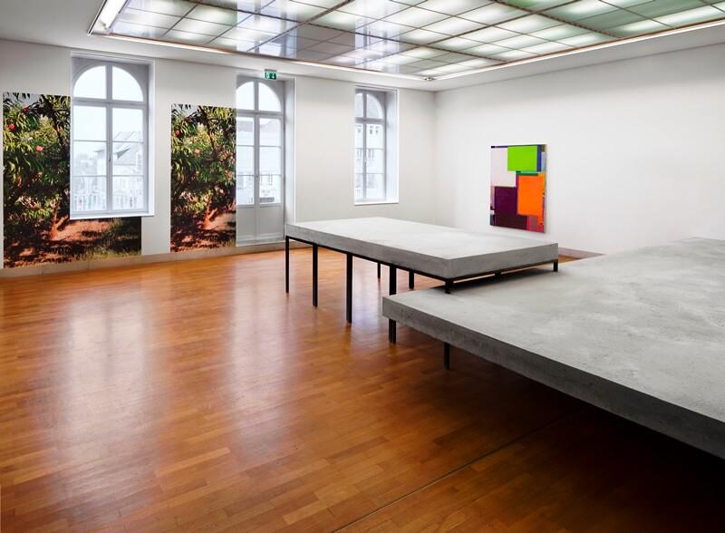 Benjamin Appel, Raumansicht: Das Zimmer bis zur Hälfte mit Wasser füllen Galerie Stadt Sindelfingen