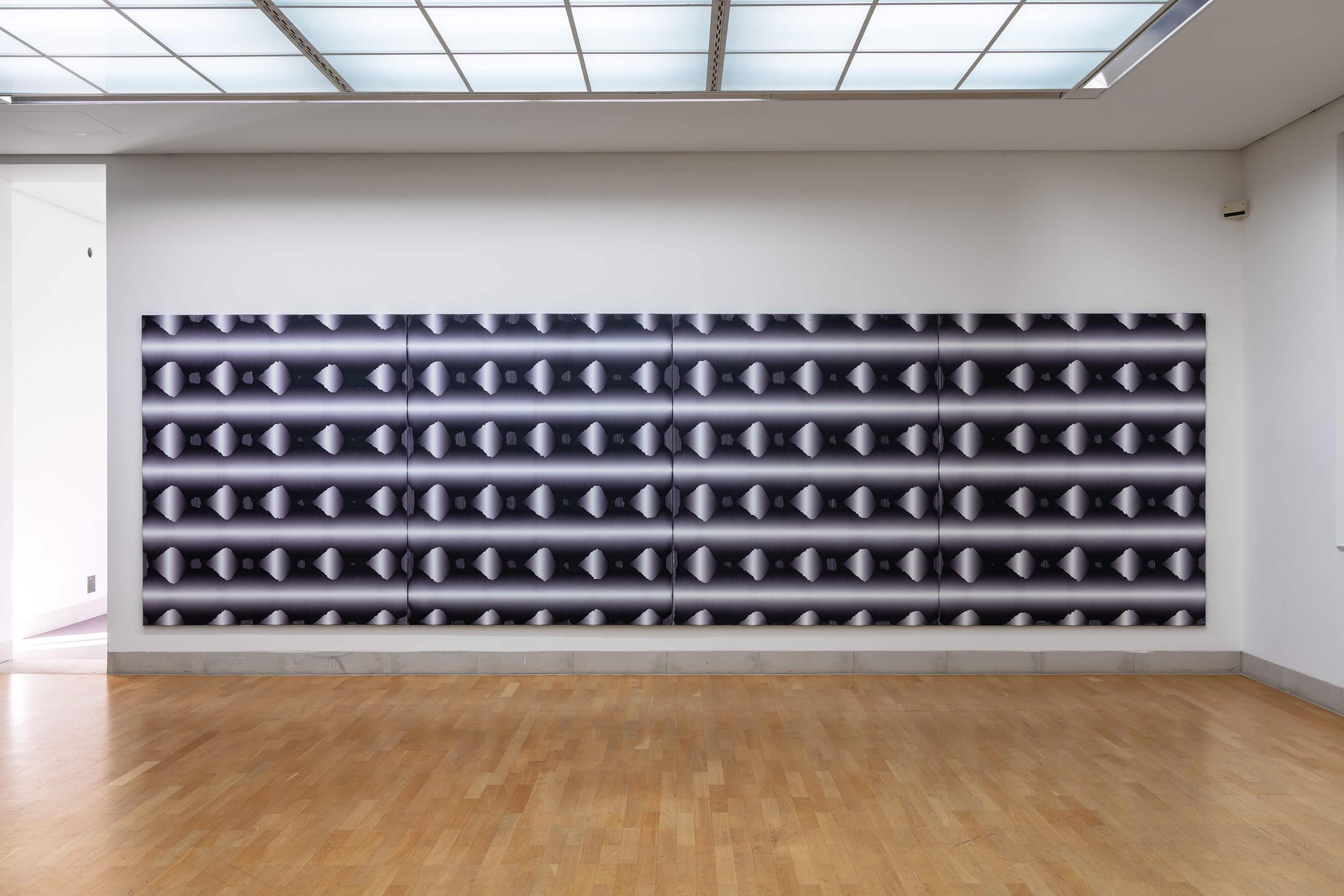 Kanta Kimura, D.121, D.120, D.122, D.123, D.115, D.116, D117, D.118, 2018, © VG Bild-Kunst, Bonn 2018, Foto: Henning Krause