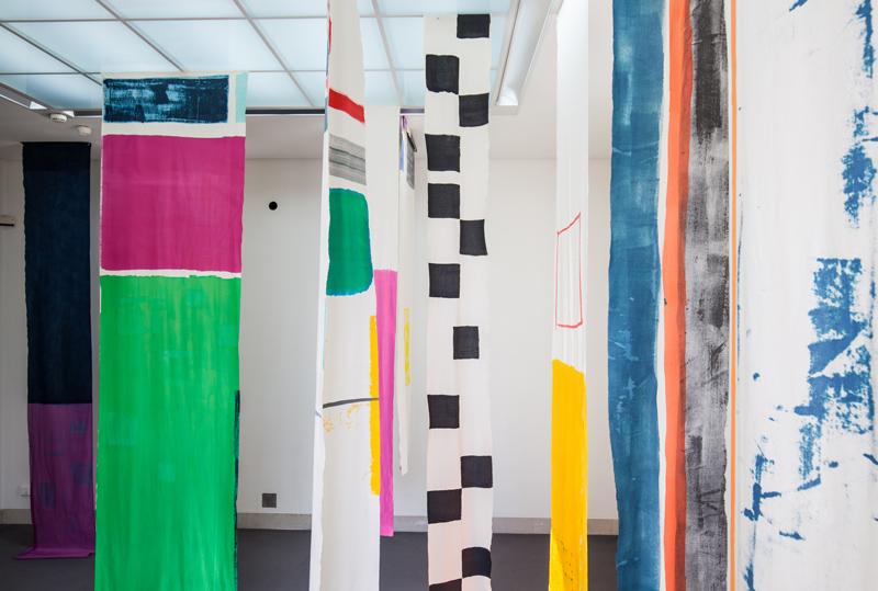 Anna Schütten, Go (Raumansicht), 2019, © VG Bild-Kunst, Bonn 2019, Foto: Benjamin Knoblauch