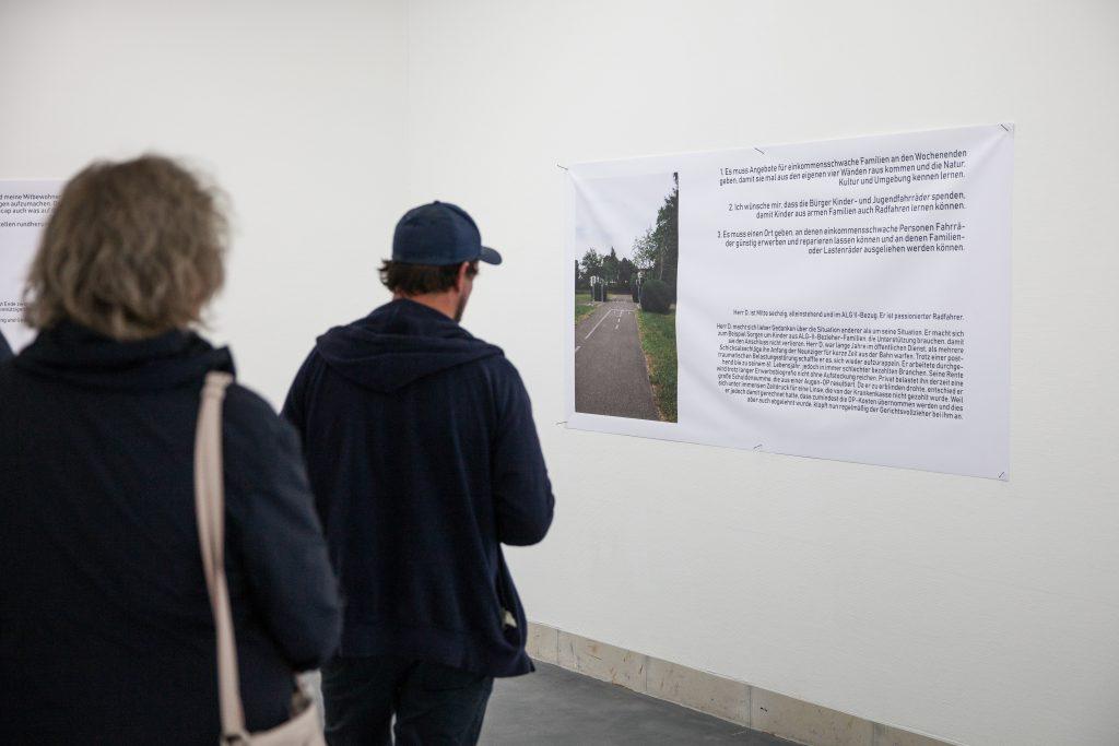 Ausstellungsansicht Jov T. Keisar: 700 mal x (2019). Foto: Benjamin Knoblauch