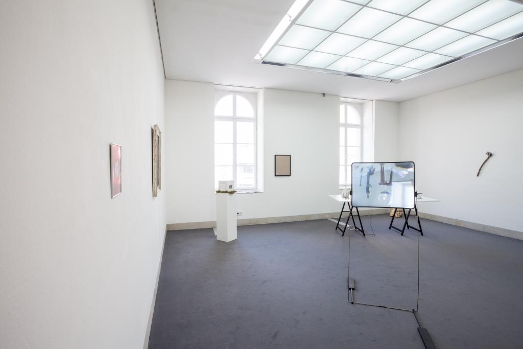 Ausstellungsansicht Adam Cmiel: future city (2019); Foto: Benjamin Knoblauch