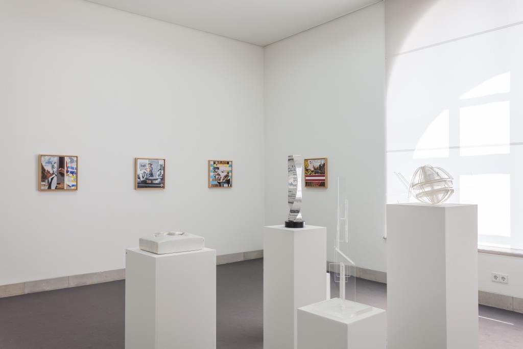 Ausstellungsansicht Joachim Kupke: Frühe Fotos, späte Bilder. Skulptur; Foto: Benjamin Knoblauch