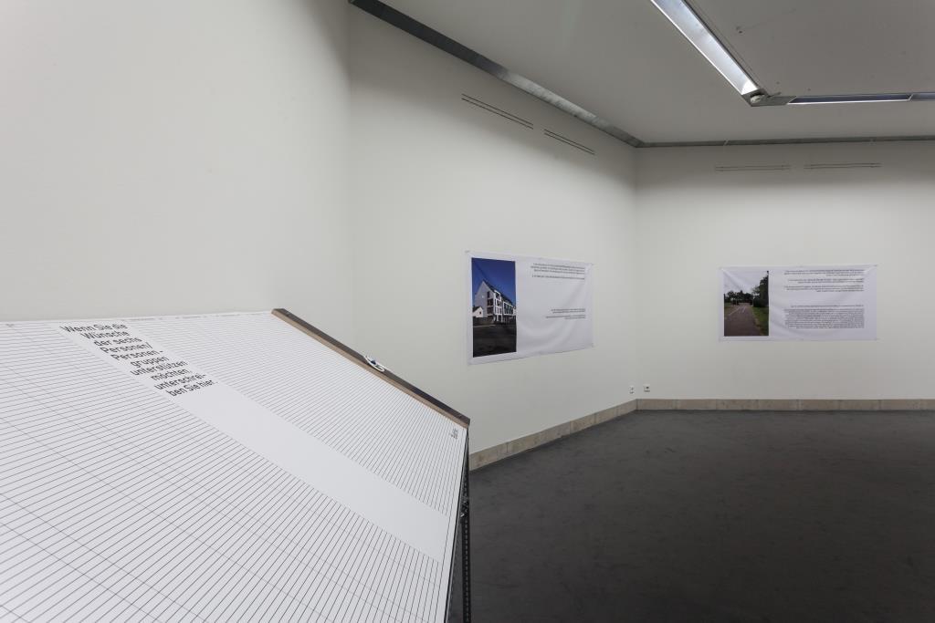 Ausstellungsansicht Jov T. Keisar: 700 mal x (2019); Foto: Benjamin Knoblauch
