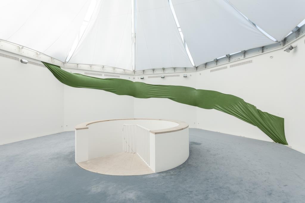 Ausstellungsansicht Melanie Dorfer: continuum (2019); Foto: Benjamin Knoblauch