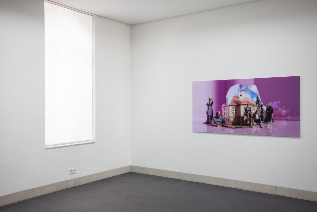Ausstellungsansicht Tzusoo: Who Guards the Museum (2019); Foto: Benjamin Knoblauch